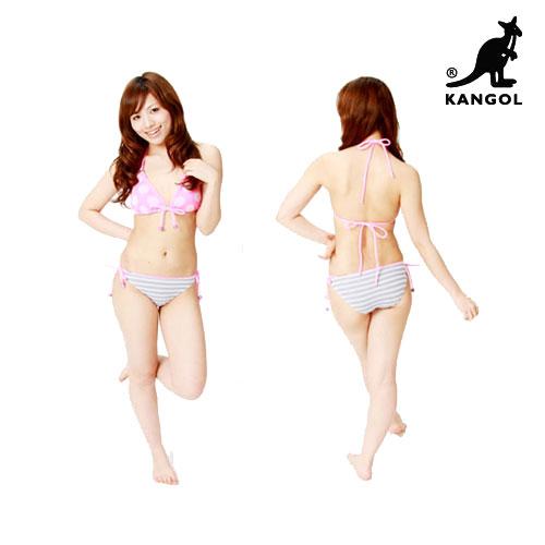 送料無料 ビキニ レディース KANGOL カンゴール ニット 女性 水着 ブランド 正規品 父の日