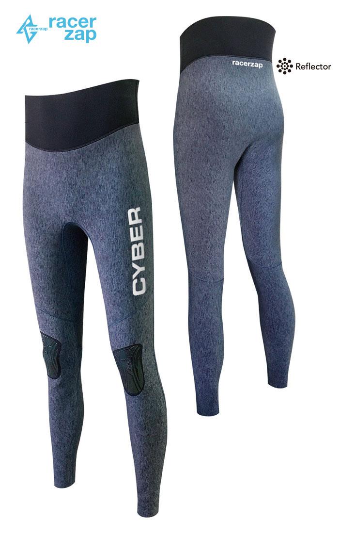 RACERZAP レーサーザップ MENS Ultimate 2mm Skinny Pants (グレー/ブラック/ブラック) SUP サップ ウェットスーツ サポートスーツ 2mm 男性用 メンズ 送料無料 父の日