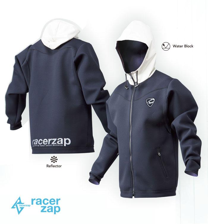 RACERZAP レーサーザップ RZBJACKET (ブラック/ホワイト) SUP サップ ジャケット 1mm ウェットスーツ サポートスーツ 男性用 メンズ 送料無料 バレンタイン