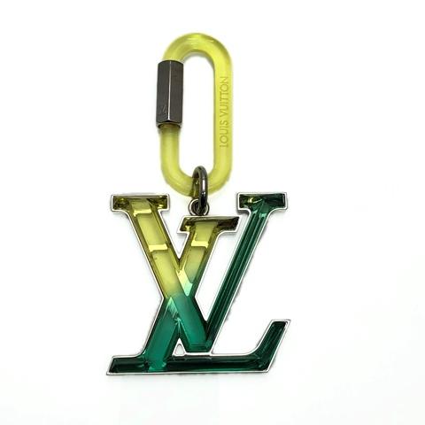 LOUISVUITTON ルイヴィトン ビジュー サック LV プリズム キーホルダー チャーム MP2366 中古品 本物 送料込み 送料無料!!