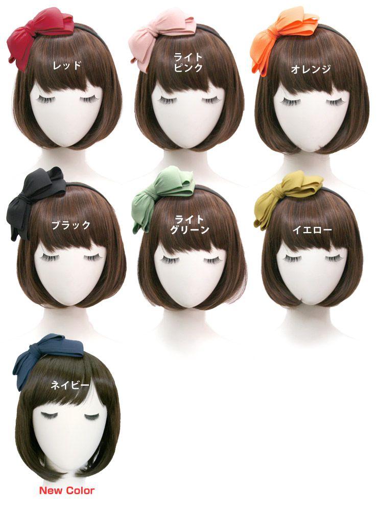 Triple Bow Headband [hac034] heaakuse hair accessories wedding 3 party head axe flower black | |