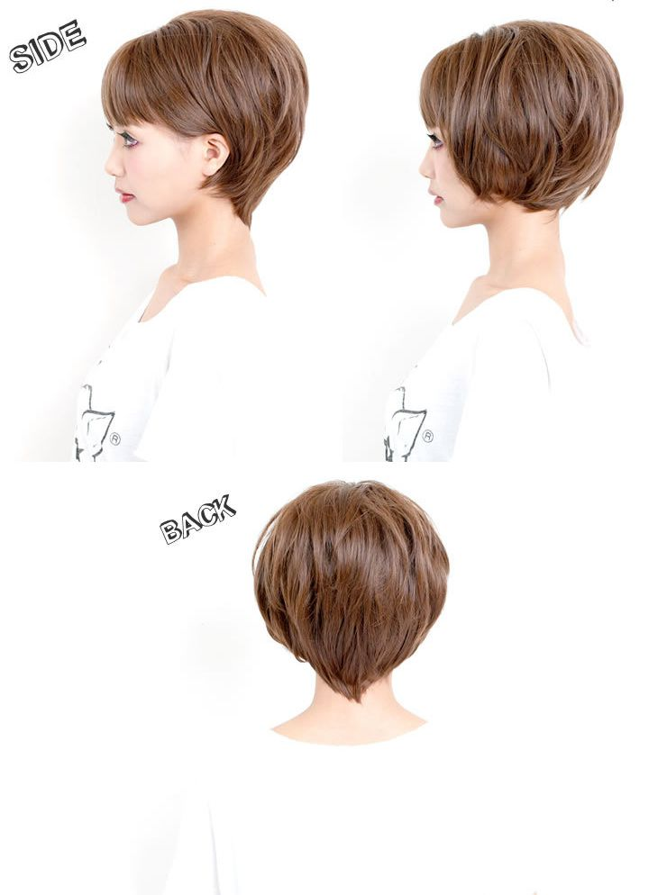 Wig short / short wig || Costume play AQUADOLL aqua Dole [宅送] || with the net including the short [wg073] heat resistance full wig wig WIG SHORT short extension short wig postage for a wolf ear