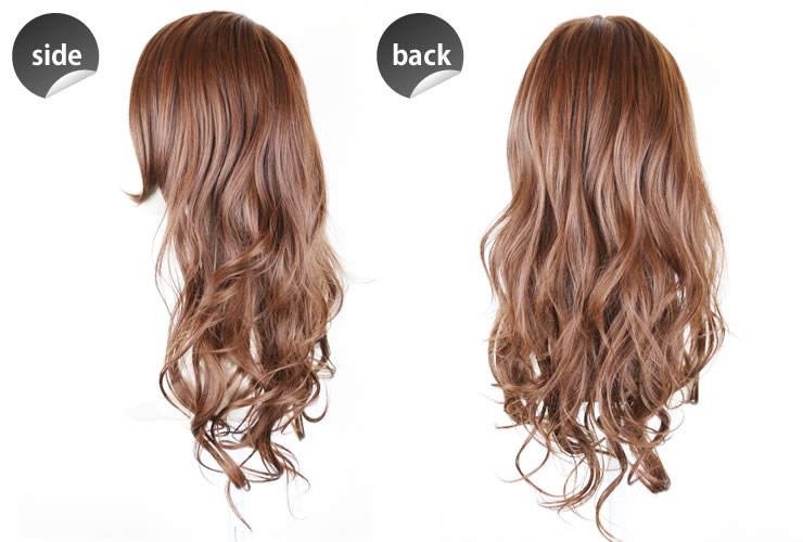 Wigs Extensions AQUADOLL | Long bang Glamorous Long wig [wg075]