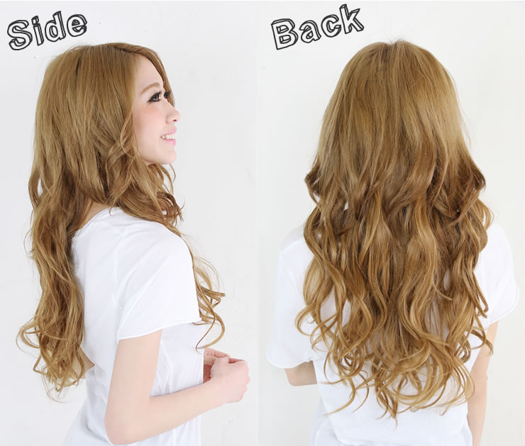 Wigs Extensions AQUADOLL | S loose curl long hair wig [wgt038]