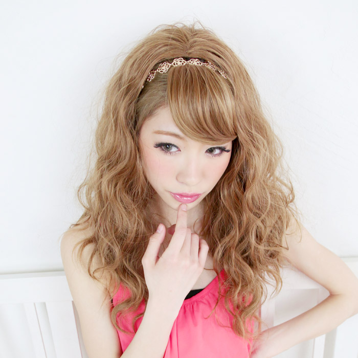 Wigs Extensions AQUADOLL | Dolly Carl Medium half wig [wgt041]