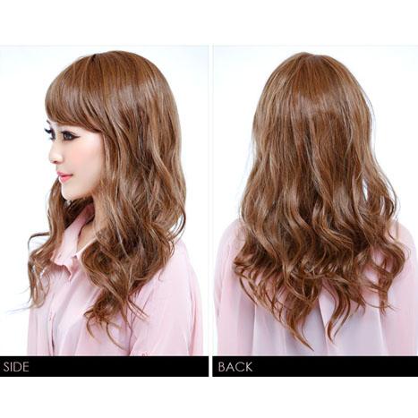 Wigs Extensions AQUADOLL | Fluffy loose Wave Medium wig [wg066]