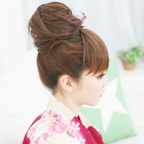 Wigs Extensions AQUADOLL | hair bun 2nd Point wig [wgt005]