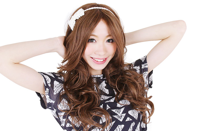 Wig long / extension || The long Bang grammar RAS long wig [wg075] heat resistance full wig long wig wig WIG extension postage is crowded; wedding ceremony wig long [宅送] || with the exclusive net