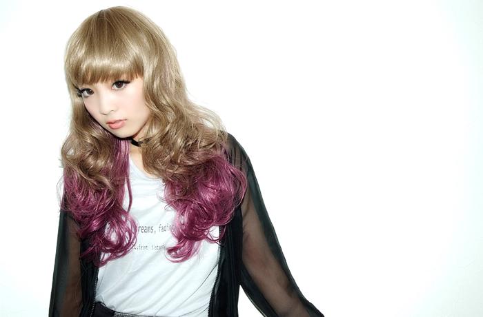 ウィッググラデミディアムプラスインパクト ☆ グラデカラーミディアムウィッグ[wg102]フルウィッグ wig heat resistance wig raven-black hair extension costume play wig net AQUADOLL aqua Dole || belonging to [宅送] ||