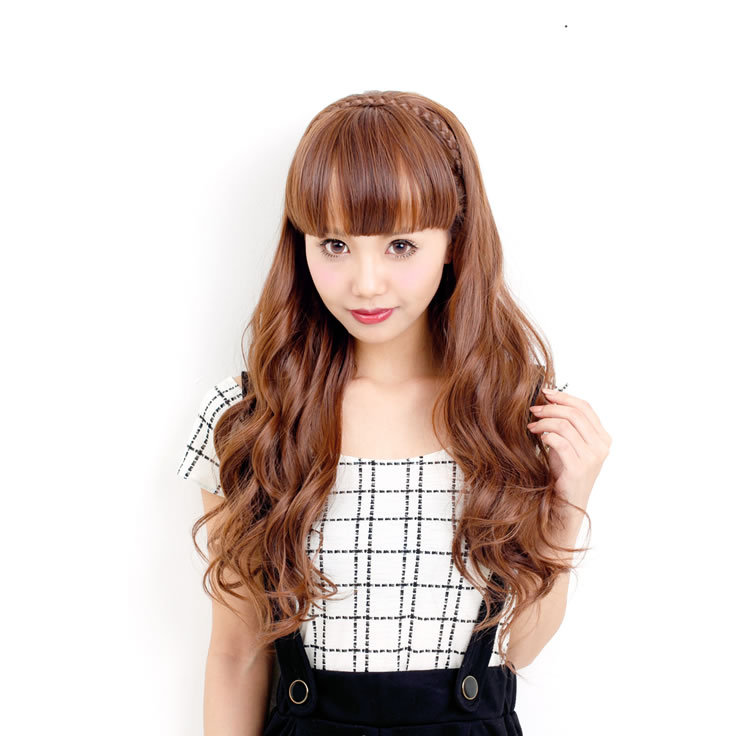 Wigs extensions easy headband ★ half WIG heat resistant extension wig wig wig wedding sale AQUADOLL SALE アクアドール