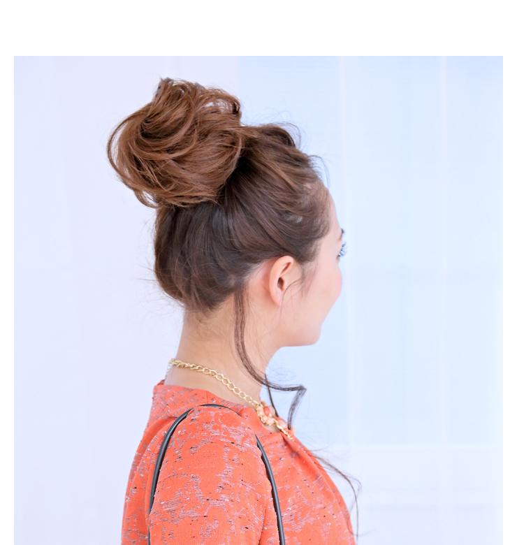All nine colors of dumpling wig 1[wgt004] heat resistance dumplings point wig extension wig WIG || [宅送] ||