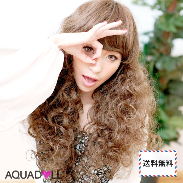 Wigs Extensions AQUADOLL | Candy Spiral Wave Long wig [wg001]