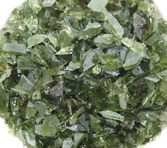 隕石 浄化用さざれ 高品質 モルダバイトAAA 100g 穴無