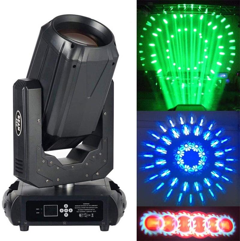 ステージライト ムービングライト 260W 14色 16/20チャンネル ムービングヘッド ステージ照明 DMX512対応 音声起動 両方向回転 LED 高輝度 パーティー スポットライト 演出用 ディスコライト イルミネーション LVYUAN(リョクエン)