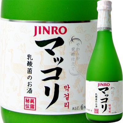 JINRO(jinro)makkori瓶375ml<礼物礼物Gift酒酒>