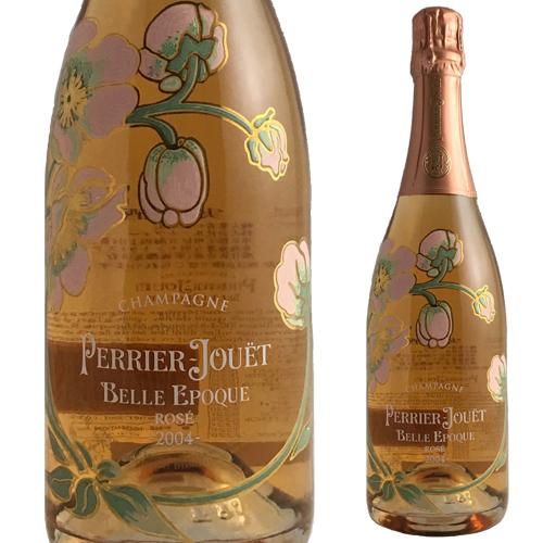 【送料無料】【シャンパーニュ・シャンパン】ペリエ ジュエ ベル エポック ロゼ '04[2004] 750ml(泡・ロゼ)【クール便がオススメ】<シャンパン ワイン ギフト 誕生日プレゼント Gift 結婚祝い お酒 スパークリングワイン>