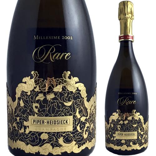 】【送料無料】パイパー エイドシック レアヴィンテージ '02 [2002] 750ml(泡・白)【クール便がオススメ】<シャンパン ワイン スパークリングワイン 白 ギフト プレゼント 贈答品 贈り物 結婚祝い ワイン お酒 白ワイン>