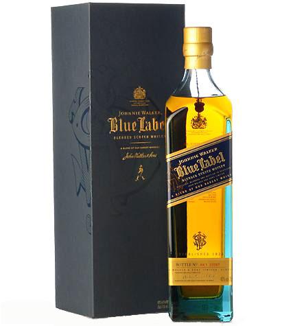 【スコッチ】ジョニーウォーカー ブルーラベル 750ml*<ウイスキー ウィスキー 父の日 ギフト プレゼント Gift 贈答品 内祝い お返し お酒>