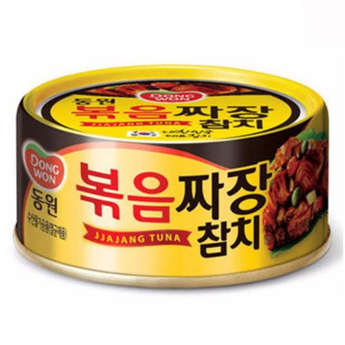 東遠 ジャジャン ツナ 缶詰め 1缶 ドンウォン つな おかず おつまみ 料理 人気の製品 2020 新作 保存食 防災グッズ 韓国 非常食 食材 防災食 食品
