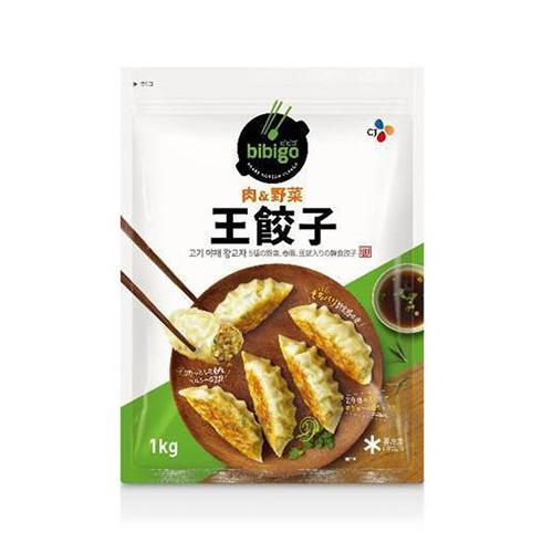冷凍便 SALE ビビゴ 送料0円 王餃子 1kg 約28個入り 韓国NO.1餃子 料理 韓国餃子 おやつ 韓国 食品 食材