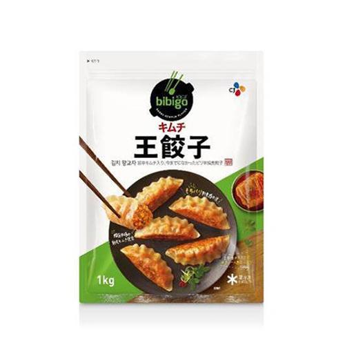 冷凍便 ハイクオリティ ビビゴ キムチ餃子 返品送料無料 1kg 約28個入り 韓国NO.1餃子 韓国 料理 おやつ 食材 食品 韓国餃子