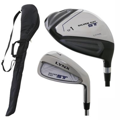 [公式] Lynx リンクス ゴルフ メンズ スターター 2本セット クラブケース付き 【あす楽対応】
