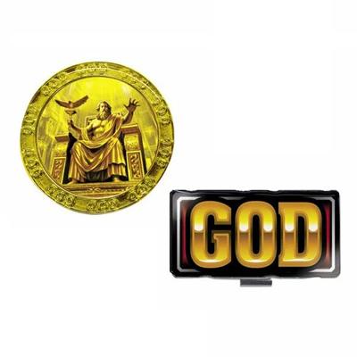 キャラクター グッズ 新作販売 ミリオンゴッド MILLOIN GOD メール便 MGM001 BIGマーカーシリーズ 返品不可 ゴルフマーカー