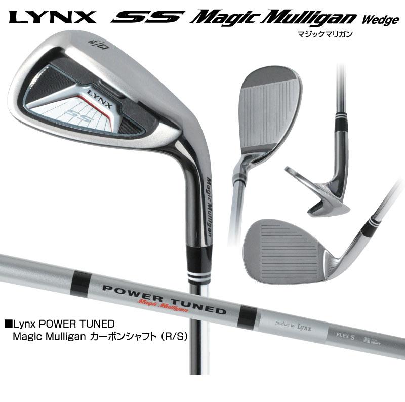 [公式]Lynxゴルフ市場店リンクス ゴルフ ウェッジ SS マジックマリガン Lynx POWER TUNEDカーボン Lynx Golf