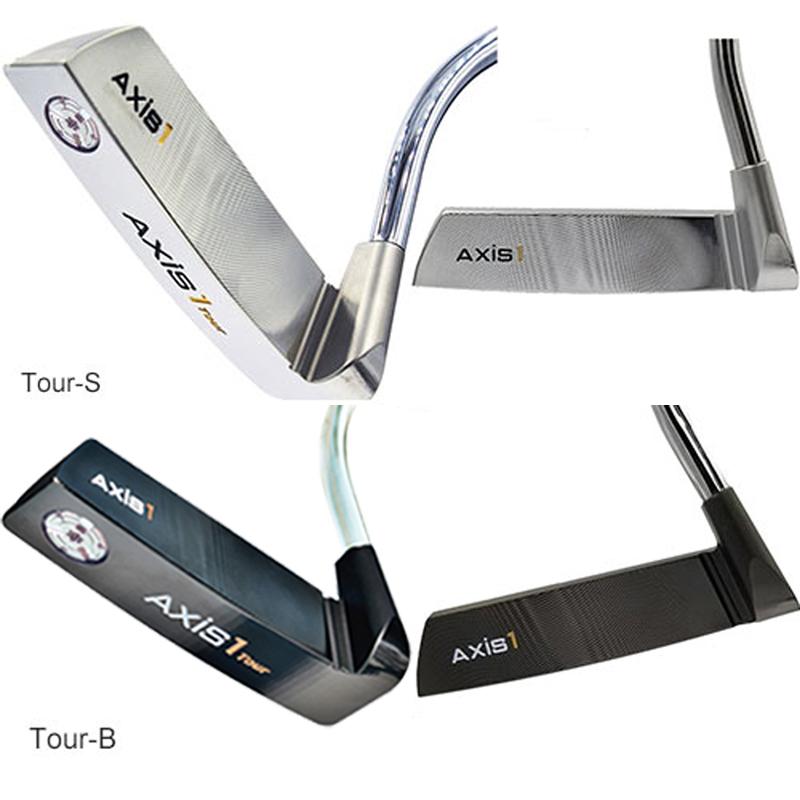[公式]真っすぐにしか引けないパターAXIS 1 TOUR-Sアクシスワン ツアーS パター(シルバー)スイング練習器 ゴルフ パター