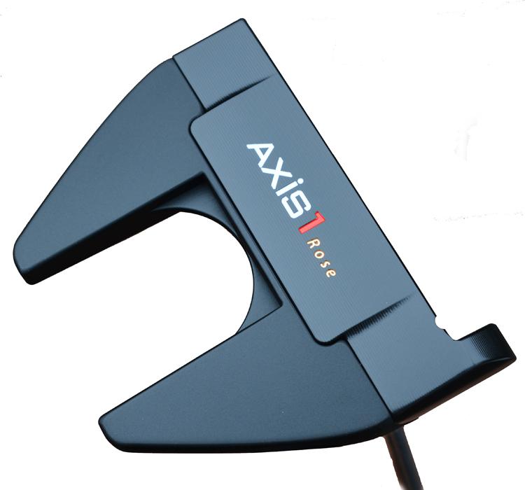 数量限定発売! [公式] AXIS1 アクシスワン ローズマレットパターブラック ジャスティン・ローズ 使用パターブランド Justin Rose