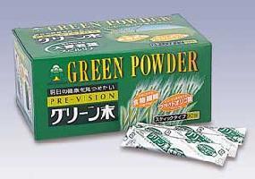 大麦若葉 プレビジョン グリーン末 90包+こだわりポン酢おまけ付き【nitoro1017】
