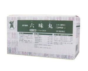 【第2類医薬品】六味丸(ろくみがん)エキス細粒G「コタロー」 90包【小太郎漢方・コタロー】