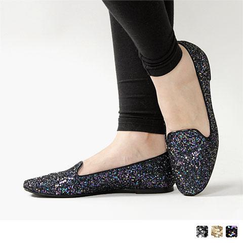 Pretty Ballerinas - pretty ballerina - lame glitter shoes Opera ☆ ☆