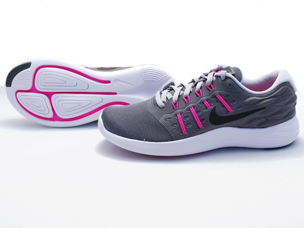 耐克無線網狀網耐克 LUNARSTELOS 844736-005 耐克農曆施特勞斯運動鞋女性的運行