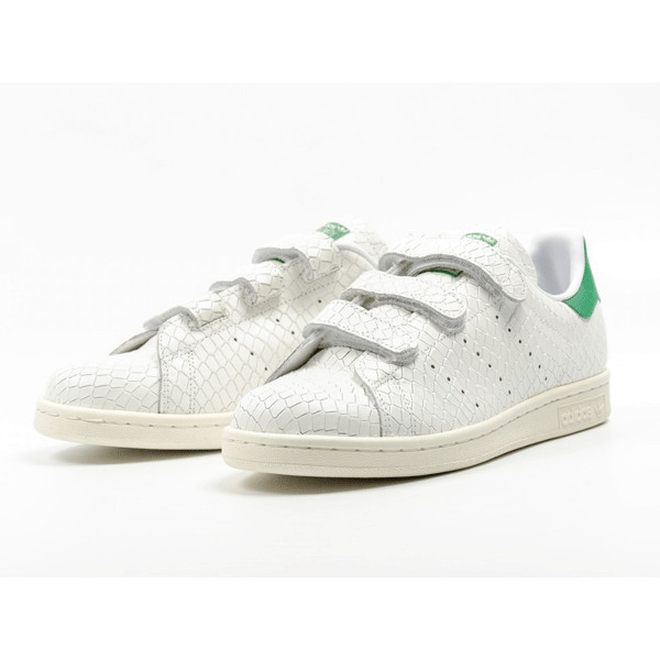Adidas Originals Stan Smith CF Suede Upper Snakeskin Pattern