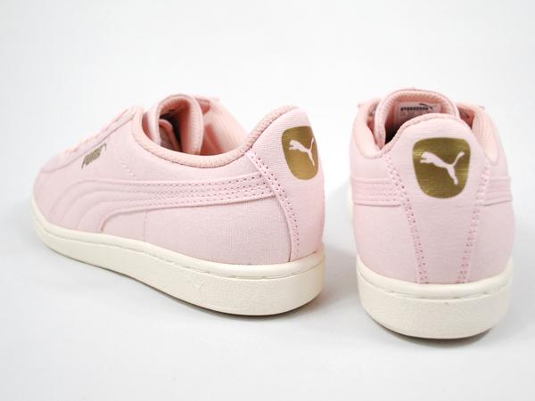 e4b86e8b Puma PUMA VIKKY CV 358,400-07 プーマビッキー CV Lady's canvas sneakers