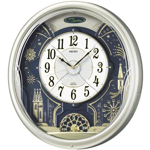【数量は多】 【送料無料 アナログ】 SEIKO製 RE561H 電波掛け時計 SEIKO製 からくり時計 アナログ RE561H, AirBuggy OnlineStore(直営店):47ba72b7 --- canoncity.azurewebsites.net