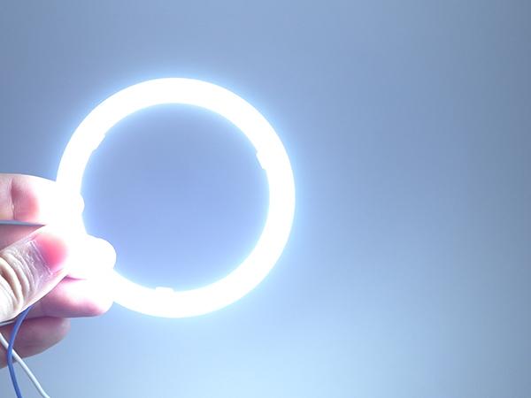 最新高輝度 COBイカリング 60Φ~110Φ選択 2本入り 白 ホワイト【2334-W】