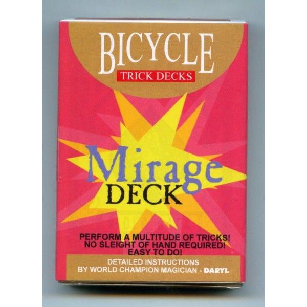 【手品・マジック】 【トリックカード】BICYCLE MIRAGE DECK(バイスクル ミラージュデック)【ネコポス対応可】 <BR>