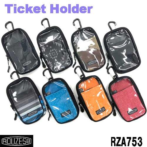 スマホ対応のチケットホルダー 送料無料 OUTLET SALE チケットホルダー モバイルポーチタイプ スマホ対応 スキー rza753 スノーボード 未使用品