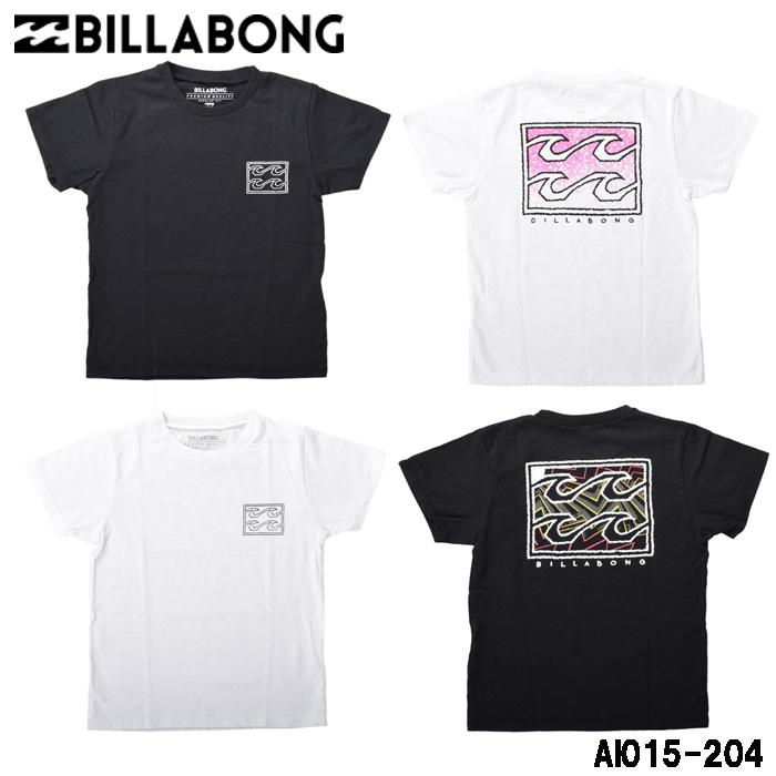 ビラボンのTシャツで大人顔負けのサーフスタイル オンラインショッピング BILLABONG ビラボン Tシャツ 半袖 キッズ AI015-204 子供服 代引発送は出来ません デポー USAコットン メール便で送料無料