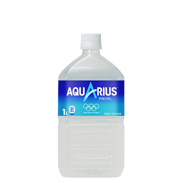 渇いたからだに必要なミネラル 通販 アミノ酸 クエン酸を配合 気持ちもリフレッシュできる スッキリとした味わい アクエリアス PET 1L スポーツドリンク 全国送料無料 同梱不可 × ペットボトル メーカー直送 12本 往復送料無料 1ケース