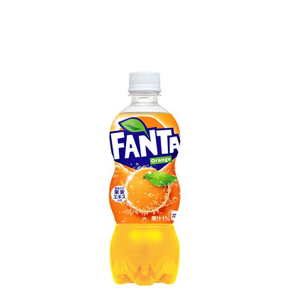 果汁ブレンドのフルーティーなおいしさ 新生活 果汁1%配合 ファンタオレンジ 500mlPET 全国送料無料 ペットボトル 炭酸 1ケース×24本入 新作 人気