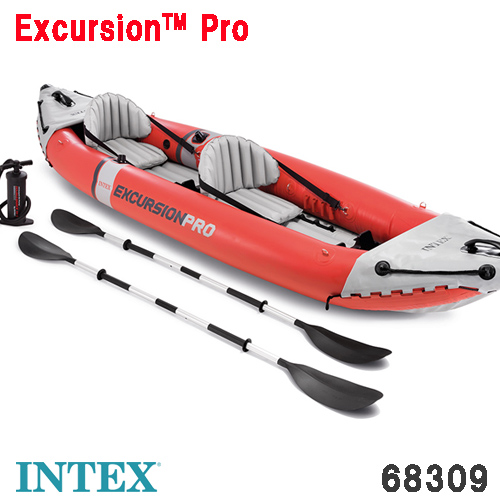 カヤック ボート エクスクルージョン プロカヤック 2人乗り 384×94×46cm 68309 INTEX インテックス