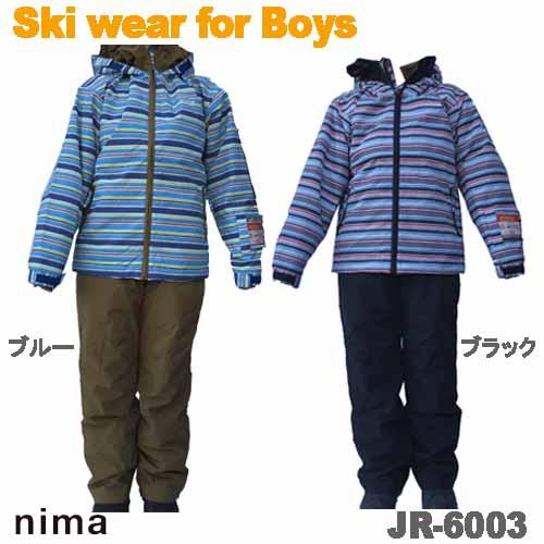 スキーウェア スキースーツ スノーボードウェア ジュニア 子供用 上下セット ボーイズ オンヨネ JR-6003