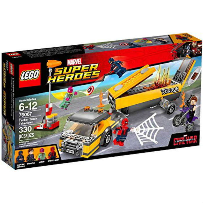 レゴ マーベル スーパーヒーローズ タンカートラック テイクダウン 76067 LEGO Marvel Super Heroes Tanker Truck Takedown  並行輸入品