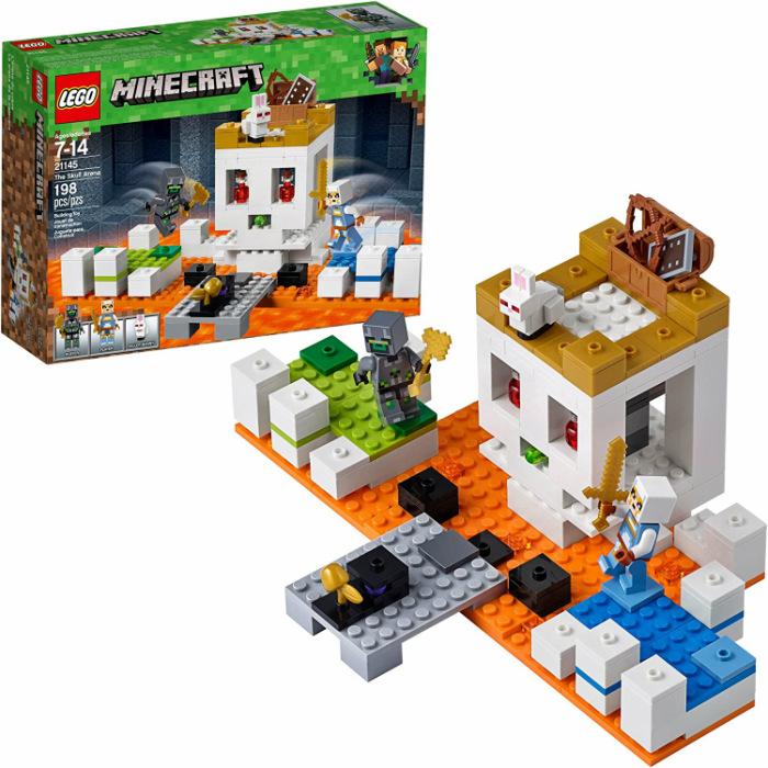 大人気のLEGOよりマインクラフトシリーズ お子様へのプレゼント用やご自身のコレクションの追加に是非 レゴ マインクラフト 21145 ドクロ アリーナ LEGO Minecraft The Skull 大決算セール Arena 並行輸入品 ご褒美 Building 卸売り 鑑賞 おもちゃ Kit 誕生日 プレゼント レゴブロック コレクション 贈り物