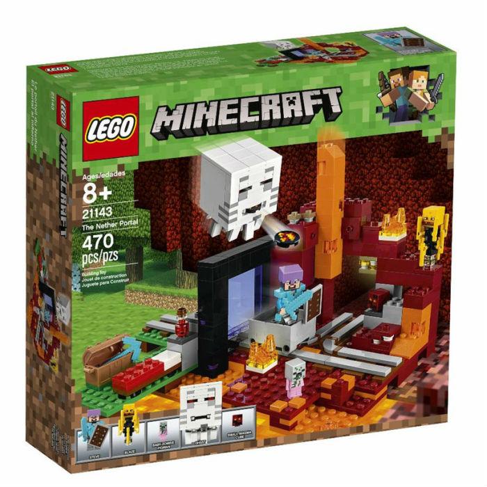 レゴ マインクラフト 21143 闇のポータル LEGO Minecraft The Nether Portal 【レゴブロック おもちゃ 鑑賞 コレクション プレゼント 誕生日 贈り物 ご褒美】 並行輸入品