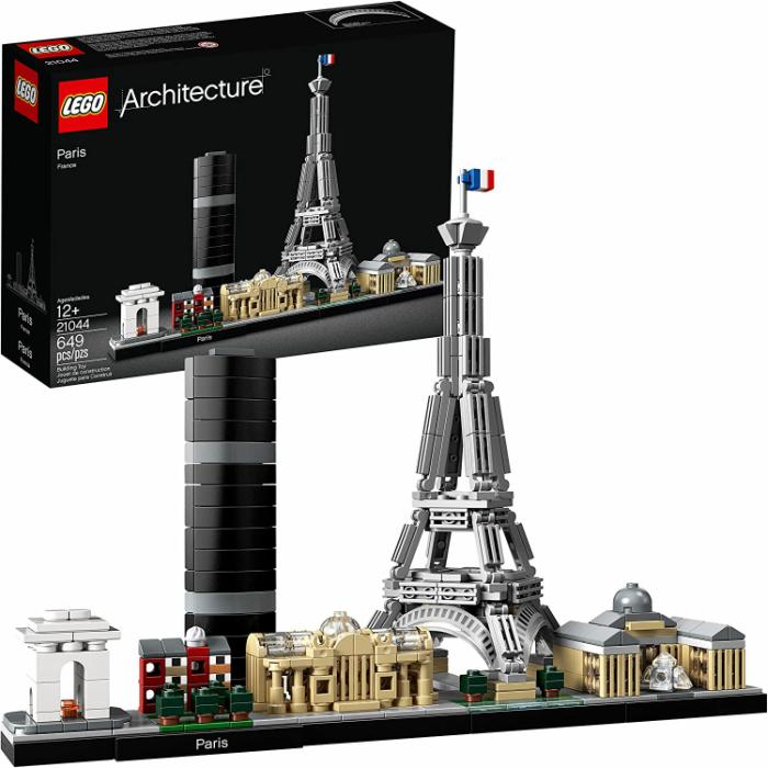 LEGOのアーキテクチャーシリーズ パリの歴史的なモニュメントを再現 ご自身のコレクションの追加に是非 レゴ アーキテクチャー パリ スカイライン コレクション 日本全国 送料無料 大特価!! 21044 LEGO Architecture Skyline Collection 鑑賞 プレゼント 凱旋門 シャンエリゼ 誕生日 Paris レゴブロック ルーブル美術館 並行輸入品 エッフェル塔 グランパレ パリシティ 贈り物