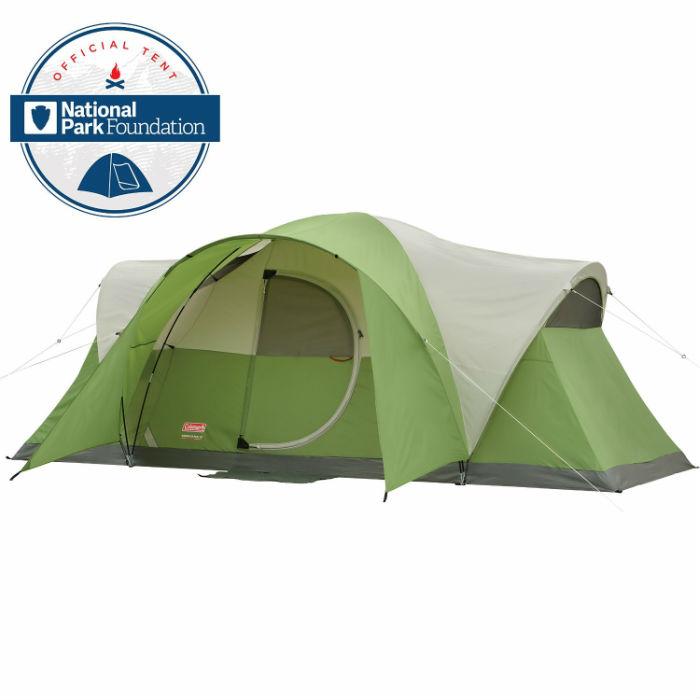 コールマン エリートモンタナテント8人用 グリーン Coleman Montana 8-Person Tent 並行輸入品